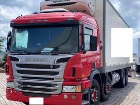 Scania P310 Ano 2014 Com Baú Frigorífico