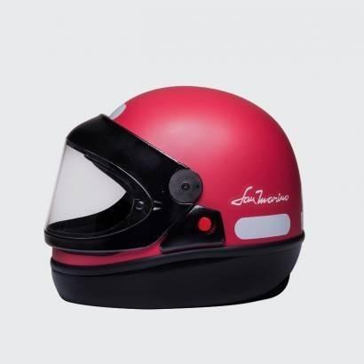 Capacete De Moto San Marino Colors Classic