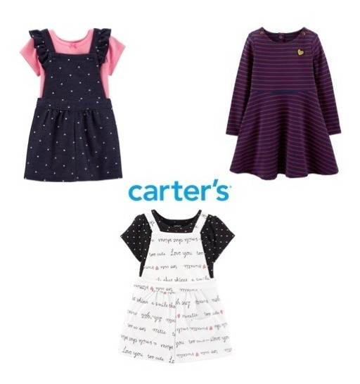 Vestido/jardineira Carter
