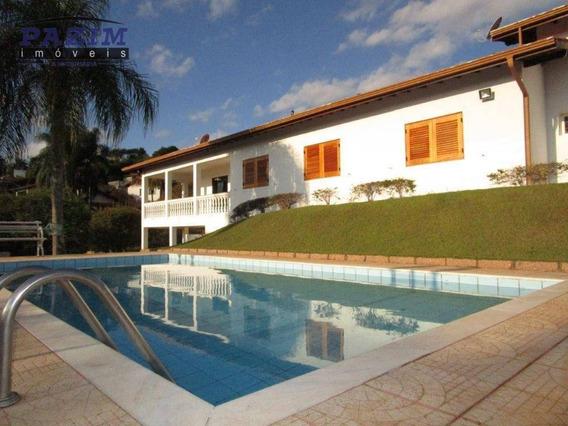 5 Dormitórios - Locação - Vista Alegre Sede - Vinhedo/sp - Ca4432