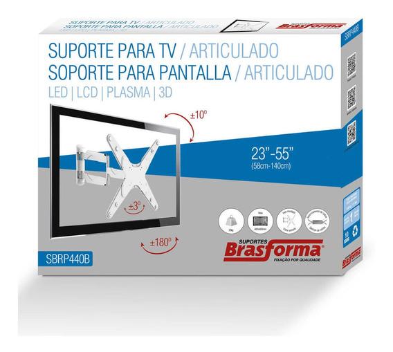 Suporte Articulado Premium De Parede Para Tv De 23 A 55