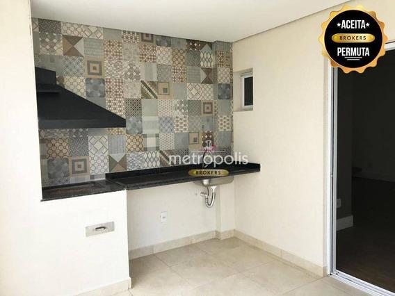Cobertura Com 3 Dormitórios Para Venda E Locação, 242 M² - Olímpico - São Caetano Do Sul/sp - Co0198
