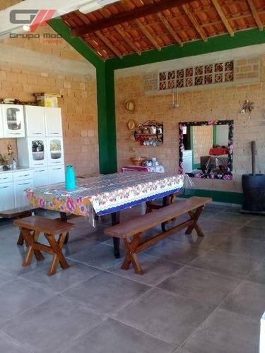 Imagem 1 de 8 de Chácara Com 3 Dormitórios À Venda, 578 M² Por R$ 500.000,00 - Parque Aeroporto - Taubaté/sp - Ch0009