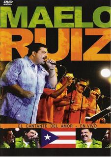 Maelo Ruiz El Cantante Del Amor En Vivo Dvd