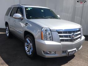 Cadillac Escalade 6.2 Paq P Platinum Plata 2013