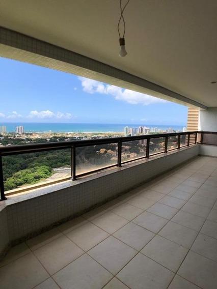 Apartamento De 4 Suítes, Vista Mar, Andar Alto- Greenville Lumno - Ap0139