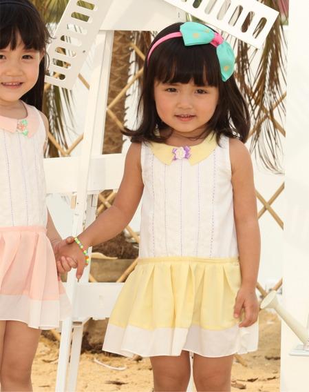 Vestido Para Niña Tallas 3, 4 Y 5 Años