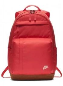 Mochila Nike Sportswear Elemental Rosacoral Dourada Original