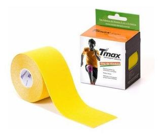Bandagem Neuromuscular Elástica Adesiva - Tmax Amarelo