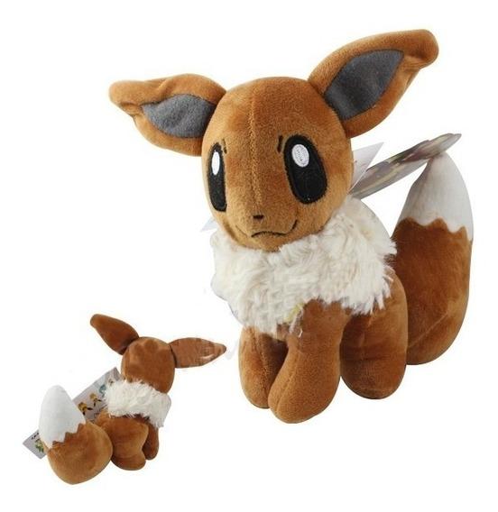 Pelucia Pokemon Eevee Aproximadamente 18cm Pronta Entrega