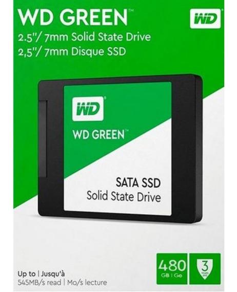 Ssd Green Wd 480gb Sata Iii 6gb S 2.5 7mm