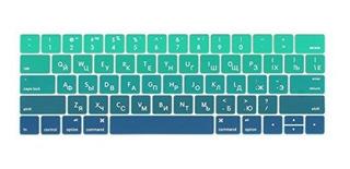 Batianda Nuevo Macbook Pro 13 15 Pulgadas 2017 Y 2016 Ruso C