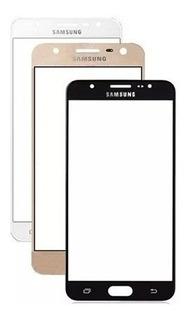 Tela Vidro Galaxy J7 Prime G610 G610m Furo Flash
