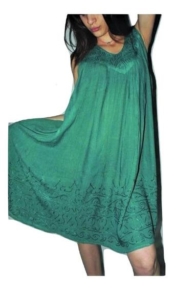Vestido Importado India Hindues Talles Especiales Hasta Xxxl