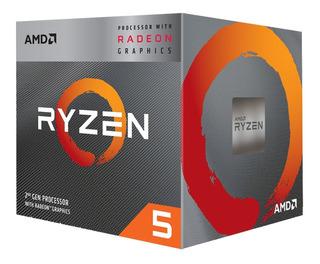 Procesador Amd Ryzen 5 3400g 4.2 Ghz Radeon Rx Vega Am4 2019
