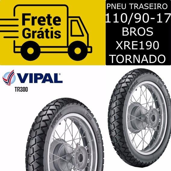 Pneu Bros Nxr150 110/90-17 Tr300 Traseiro Vipal Promoção