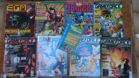 Lote De Revista De Games Frete Gratis Em 12x Sem Juros