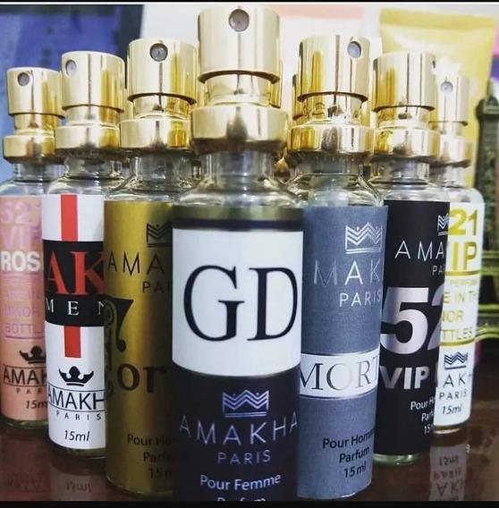 Kit 10 Perfumes Importados Amakra Paris *frete Grátis*