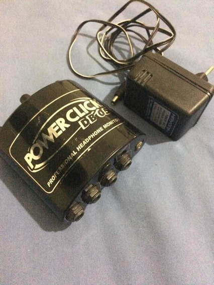 Amplificador Para Fone De Ouvido Power Click Db 05 Db05
