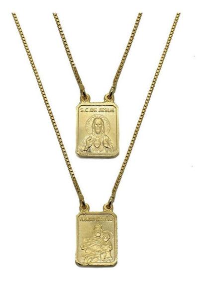 Escapulário Zye Classique Gold