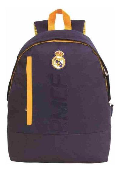 Mochila De Costas Real Madrid Sport Blue Produto Oficial Dmw