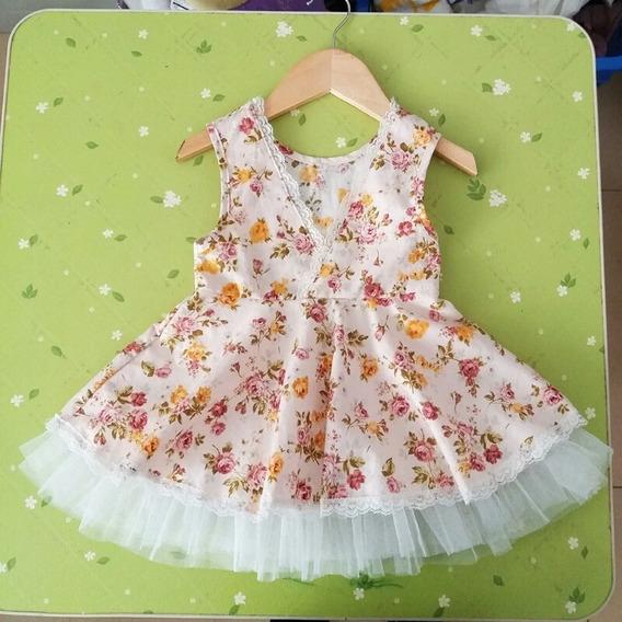 Vestido Bebê Festa Verão 2018