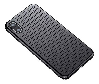 Capa Anti Impacto P/ iPhone X Xs Baseus Small Hole Black