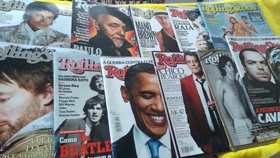 Rolling Stone Lote Com 11 Revistas Complete Sua Coleção Já!