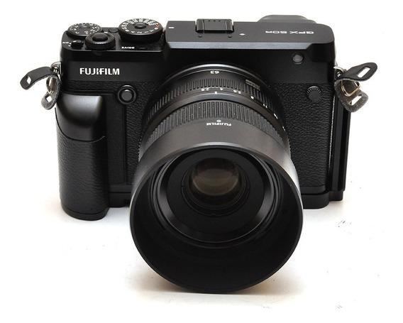 Câmera Fujifilm Medio Formato Gfx 50r Com Gf 63mm F/2.8r Wr