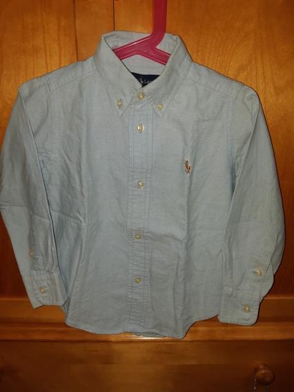 *polo Ralph Lauren* Camisa Para Niño Talle 2 Años