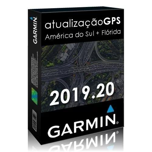 Atualização Gps Garmin América Do Sul + Flórida 2019.20