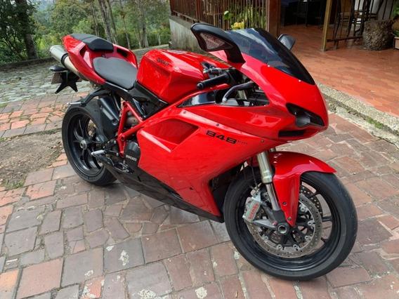 Ducati 848 Evo, Modelo 2013 Matriculada En El 2015