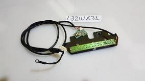 Teclado E Sensor Remoto Tv Aoc L32w831 C/chicotes