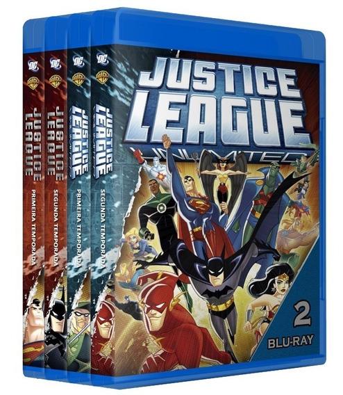 Liga Da Justiça + Sem Limites Em Bluray [ Dublado ]