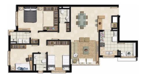 Apartamento Residencial Na Rua General Caldwell - 722