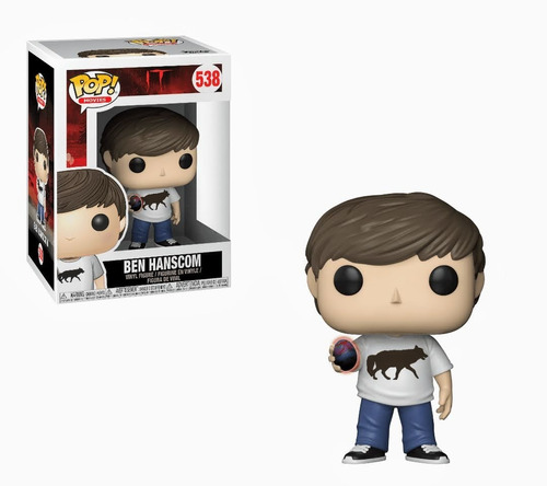Funko Pop Ben Hanscom N° 538 It - Brilla En La Oscuridad