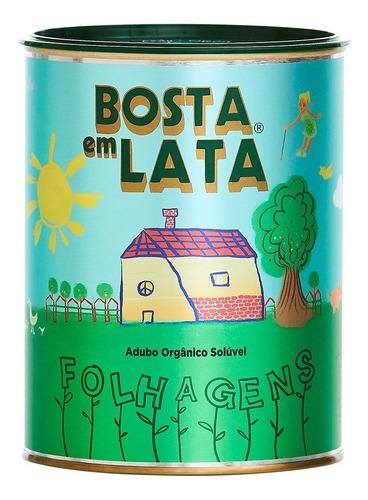 Fertilizante Orgânico Bosta Em Lata Folhagens - 400 G
