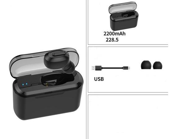 Sem Fio Bluetooth Fone De Ouvido Estéreo Invisível Invisí