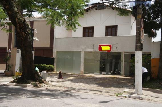 Casa Comercial Para Alugar, 230 M² Por R$ 12.000/mês - Moema - São Paulo/sp - Ca0102