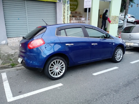 Fiat Bravo 1.8 Absolute Azul Teto + Couro Dualogic 2013