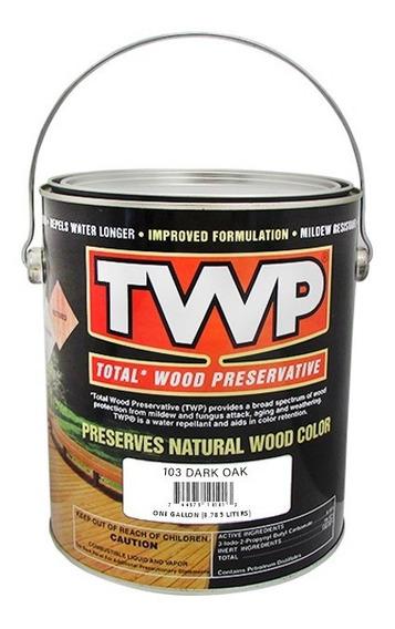 Twp 103 Dark Oak Aceite P/madera, Pérgola, Deck, Duela 1 Gal