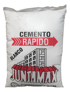 Cemento Rápido Blanco Juntamax X 5 Kg
