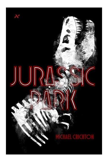 Livro - Jurassic Park- Mostruário De Loja