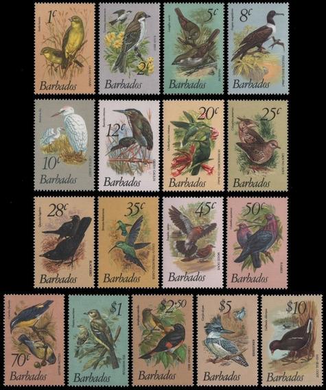 Fauna - Pájaros - Barbados 1979 - Serie Mint