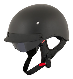 Casco Abierto Joe Rocket Rkt 4 Series Negro Mate