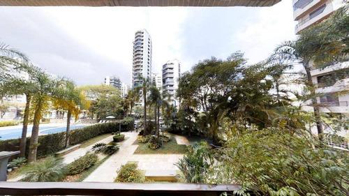 Apartamento Com 4 Dormitórios, 216 M² - Venda Por R$ 1.800.000,00 Ou Aluguel Por R$ 6.500,00/mês - Moema - São Paulo/sp - Ap10137
