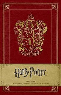 Harry Potter Gryffindor Libreta Cuaderno Grande [pasta Dura]