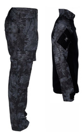 Conjunto Kryptek Typhon Combat Shirt + Calça Combat - Bélica