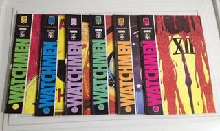 Watchmen 06 Hqs Edição Original 1988/89 + Poster + Dvd Filme