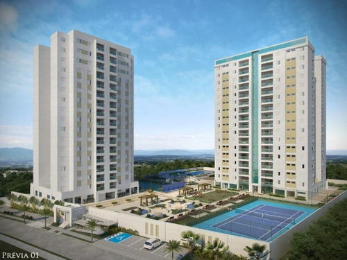 Apartamento Com 3 Dormitórios À Venda, 92 M² Por R$ 535.680 - Residencial Soleil De Québec - Sorocaba/sp, Próximo Ao Shopping Iguatemi. - Ap0129 - 67639949